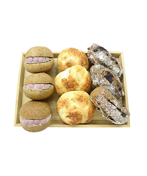 <麦ノ屋> 3種のチョコレートパンセット ダークチョコ・ルビーチョコ・ホワイトチョコ【三越・伊勢丹/公式】
