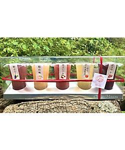こんにゃく工房迦しょう/コンニャクコウボウカショウ 果実と湧水と蒟蒻の完熟ジェリー5種類セット