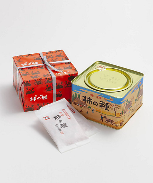 <浪花屋製菓/ナニワヤセイカ> 新潟/柿の種 進物缶 K10(和菓子)【三越伊勢丹/公式】