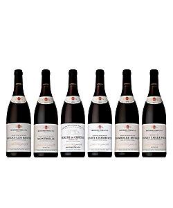 19.老舗の名門〈ブシャール・ペール・エ・フィス〉で人気銘醸地を巡る赤ワイン6本セット