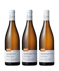 21.新進気鋭の生産者〈ブセイ・ローラン〉でムルソーを堪能する白ワイン3本セット