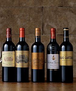 30.現地セラーにて長期熟成されたマルゴー格付けシャトー赤ワイン5本セット