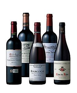 41.各地方の個性を愉しむフランス周遊赤ワイン飲みくらべ5本セット