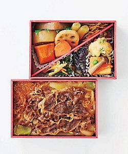 まつおか/マツオカ 【店頭受取/新宿】飛騨牛しぐれ二段弁当