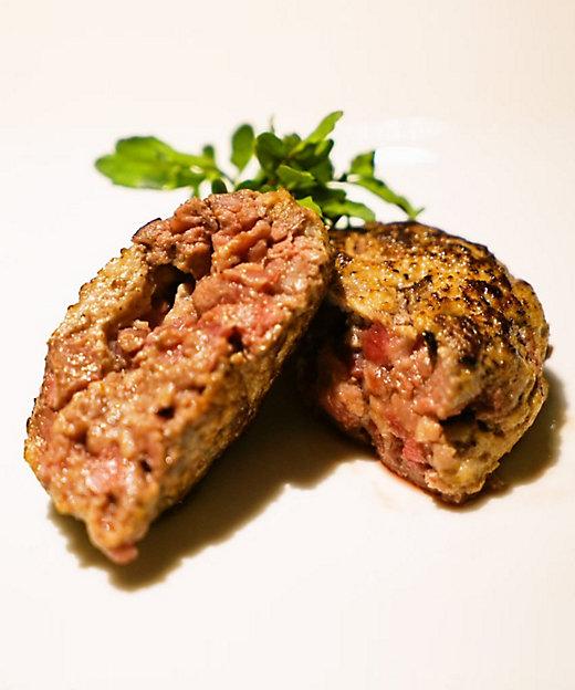 手切りめがね肉入りハンバーグの特別セット