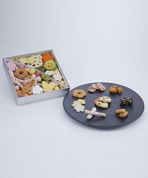 <tamayose/タマヨセ> ふきよせ 甘じょっぱい缶(和菓子)【三越伊勢丹/公式】