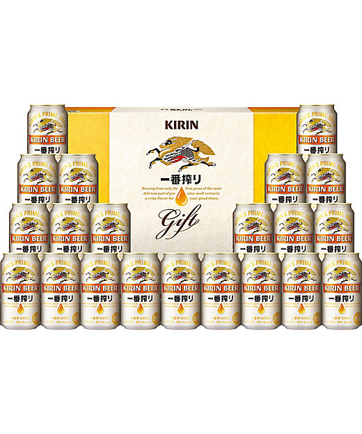 [お中元][送料無料]<キリンビール(サマーギフト)/キリンビール(サマーギフト)> 一番搾り[三越伊勢丹/公式]