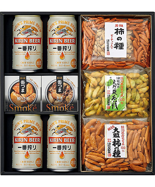 [お中元][送料無料]<キリンビール(サマーギフト)/キリンビール(サマーギフト)> 一番搾り・おつまみ詰合せ[三越伊勢丹/公式]