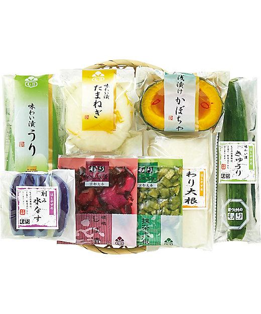 【お中元】【送料無料】京漬物 涼味 籠入り【三越伊勢丹/公式】