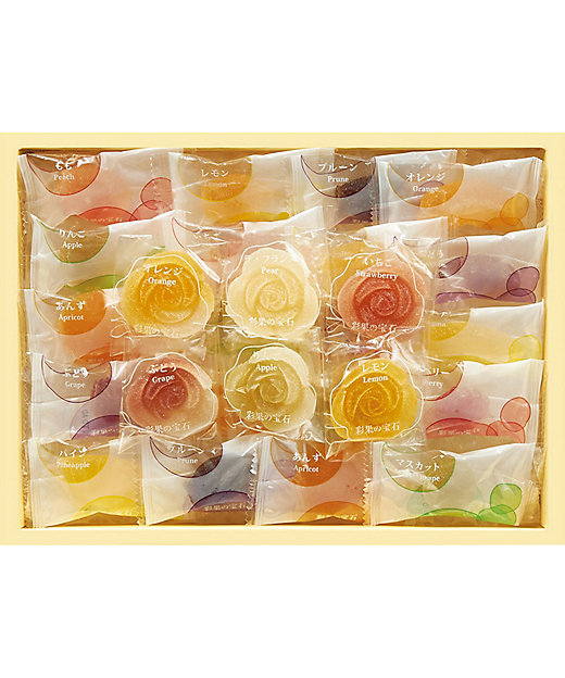 【お中元】【送料無料】フルーツ&フラワーゼリーコレクション(洋菓子)【三越伊勢丹/公式】