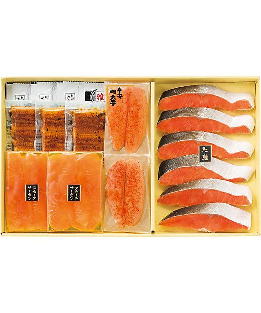 [お中元][送料無料]鮭・魚卵と鰻蒲焼詰合せ[三越伊勢丹/公式]