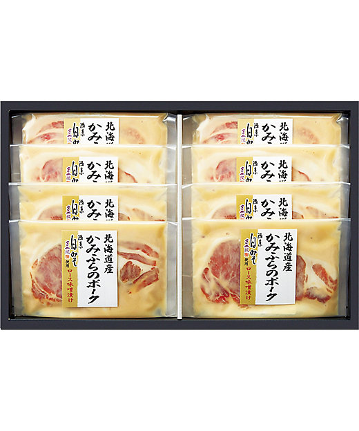 [お中元][送料無料]北海道産かみふらのポーク 西京白味噌漬[三越伊勢丹/公式]