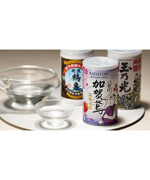 [お中元][送料無料]純米清酒缶詰合せ 6蔵飲みくらべセット[三越伊勢丹/公式]