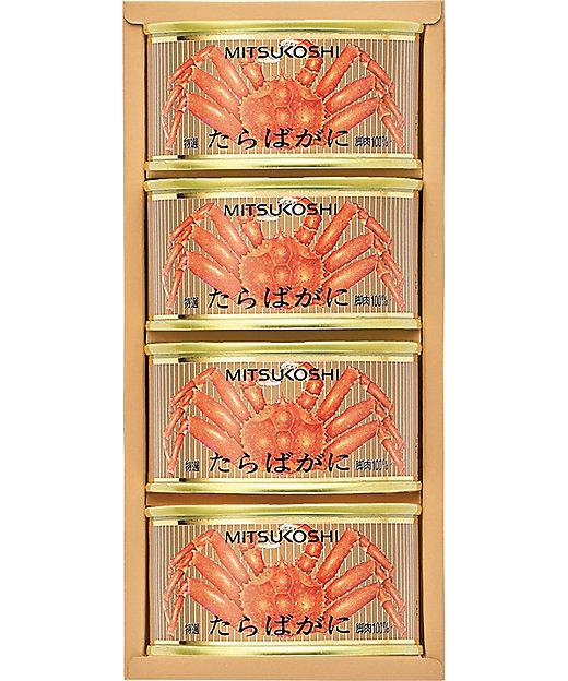 【お中元】【送料無料】三越 アラスカ産特選一番脚肉たらばがに缶詰【三越伊勢丹/公式】