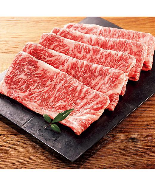 【お中元】JGAP農場指定 松阪牛 ロース肉すき焼・焼肉用 【三越伊勢丹/公式】