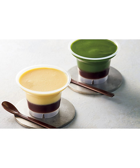【お中元】<京料理 美濃吉> 有機大豆豆乳と京都大納言小豆あんのプリン (和菓子)【三越・伊勢丹/公式】