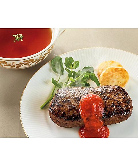 【お中元】<ホテルオークラ> 黒毛和牛ハンバーグ&コンソメスープ詰合せ 【三越・伊勢丹/公式】