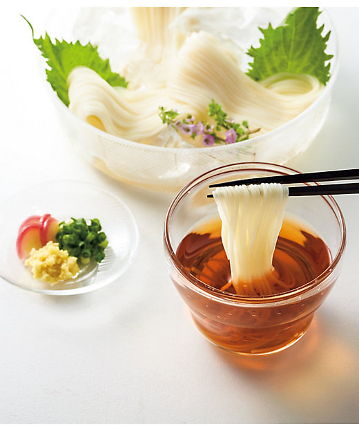 【お中元】国産小麦使用 三輪素麺吉野本葛入り 【三越伊勢丹/公式】