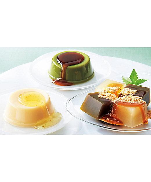 【お中元】京のお豆腐ぷりん・わらび餅詰合せ《京都》 (和菓子)【三越伊勢丹/公式】