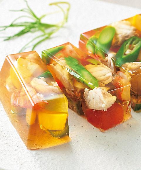 【お中元】<博多 い津゛み> ふぐと夏野菜の吹き寄せゼリー仕立て 【三越・伊勢丹/公式】