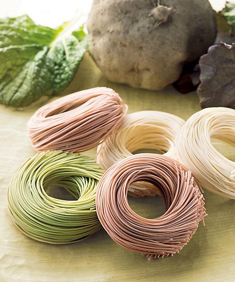 【お中元】<池利> 大和の伝統野菜を使った手延べ三輪素麺 【三越・伊勢丹/公式】