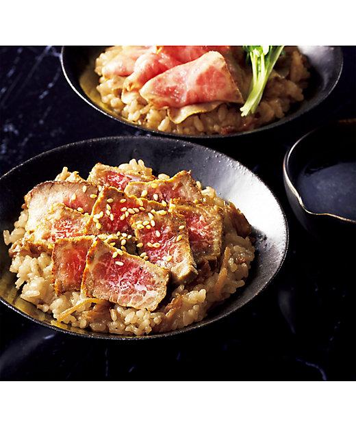 【お中元】松阪牛肉まぶし丼セット 【三越伊勢丹/公式】