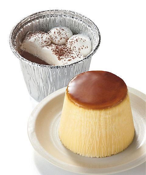 【お中元】濃厚レトロプリン&ショコラプリンセット (洋菓子)【三越・伊勢丹/公式】