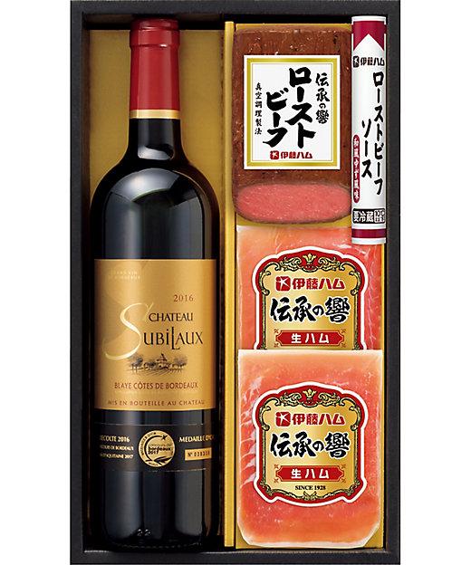 【送料無料】生ハム・ローストビーフ・ボルドー赤ワインセット【三越伊勢丹/公式】