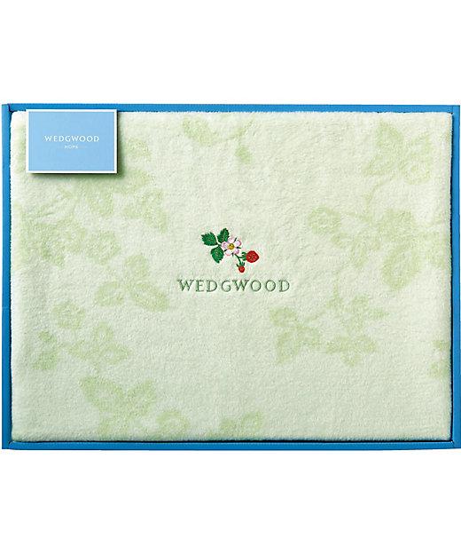<ウェッジウッド(MIギフト)/ウェッジウッド> ワイルドストロベリー 綿毛布(毛羽部分)【三越伊勢丹/公式】