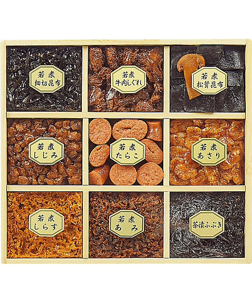 【お歳暮】【送料無料】<海老屋總本舗> 若煮佃煮詰合せ【三越伊勢丹/公式】