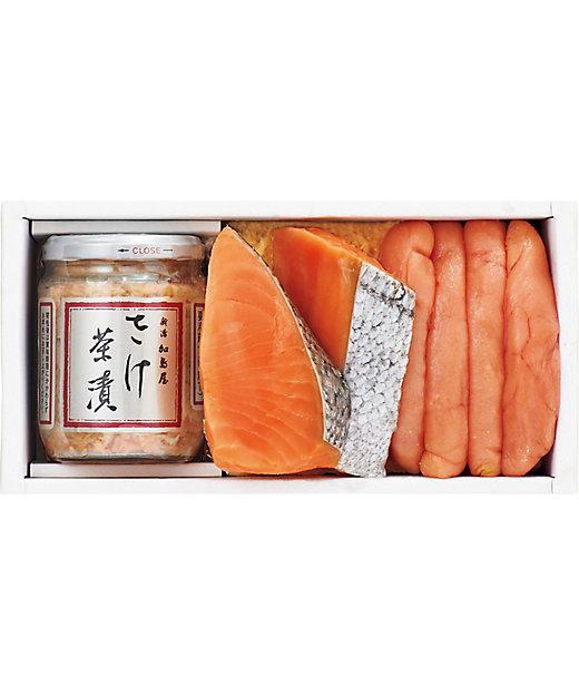 【お歳暮】<新潟加島屋> さけ茶漬と粕漬セット 【三越伊勢丹/公式】