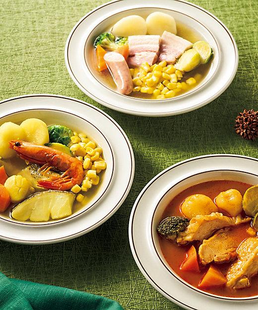 【お歳暮】<BISHOKU SENSAI> 冬の3種のスープセット 【三越伊勢丹/公式】