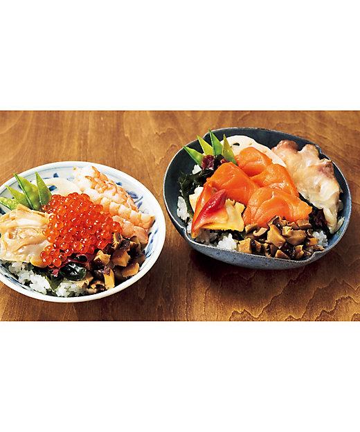 【お歳暮】<海星> いくらとサーモンのちらし寿司セット 【三越伊勢丹/公式】