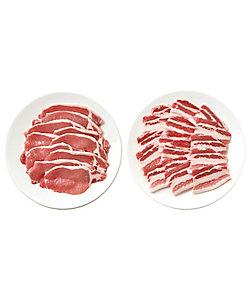 I's MEAT SELECTION/アイズミートセレクション 015.鹿児島県産 黒豚焼肉用(ロース・バラ)セット