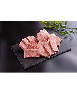 肉のいせや/ニクノイセヤ 和歌山県産 熊野牛ロース焼肉用 500g (A4~A5ランク)