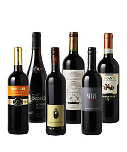 2.旧世界(フランス、イタリア、スペイン、ドイツ、オーストリア)赤ワイン 6本セット