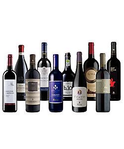 57.全てD.O.C.&D.O.C.G.格付けでセレクトしたイタリア10州赤ワイン10本セット