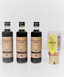 TULLYS COFFEE /タリーズコーヒー カフェオレベース・ハニーセット