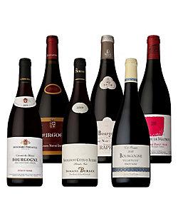 4.ブルゴーニュ生産者別飲みくらべ 赤ワイン6本セット
