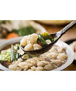 食福亭味革/ショクフクテイミカク 国産牛ぷるるんもつ鍋4人前セット(白味噌スープ)