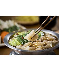食福亭味革/ショクフクテイミカク 国産牛ぷるるんもつ鍋4人前セット(醤油スープ)