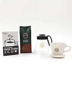 TULLYS COFFEE /タリーズコーヒー 家カフェハンドドリップセット