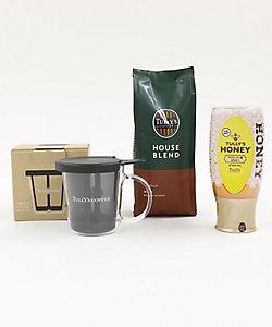 TULLYS COFFEE /タリーズコーヒー ワンカップコーヒーメーカーセット