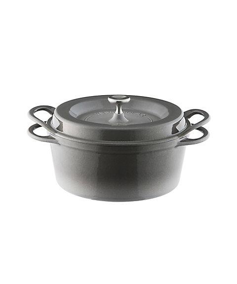 オーブンポットラウンド 22cm GRY22R [パールグレー]