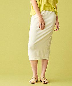 ビンテージコットン バックスリットタイトスカート