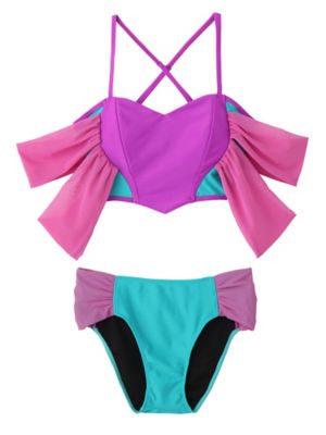 <PAMEO POSE/パメオポーズ>【予約発売】Honey Heart Bikini(231813200601) GRN<三越・伊勢丹/公式>