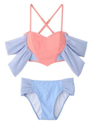 <PAMEO POSE/パメオポーズ>【予約発売】Honey Heart Bikini(231813200601) SKY<三越・伊勢丹/公式>