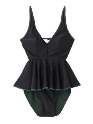 <PAMEO POSE/パメオポーズ>【予約発売】Silvia Two-piece Swim Dress(231813200701) BLK<三越・伊勢丹/公式>
