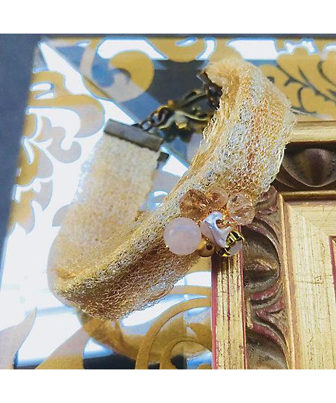 三越・伊勢丹オンラインストア【はじまりのカフェ】<ネイクローズ>フリーメタリコアクセサリー 星の流れブレスレット 【三越・伊勢丹/公式】