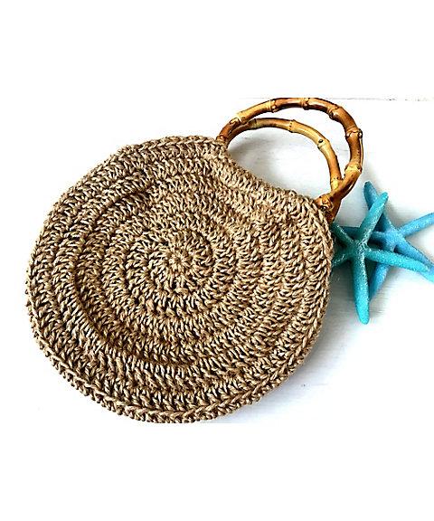 三越・伊勢丹オンラインストア[24]夏の素材の麻糸を使ってサークルバックを編みましょう! 【三越・伊勢丹/公式】